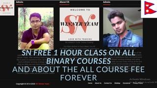 SN Free Class On SN Jackpot, SN Price Action & SN Candlestick Psychology | SN WINNER TEAM | Nepal |