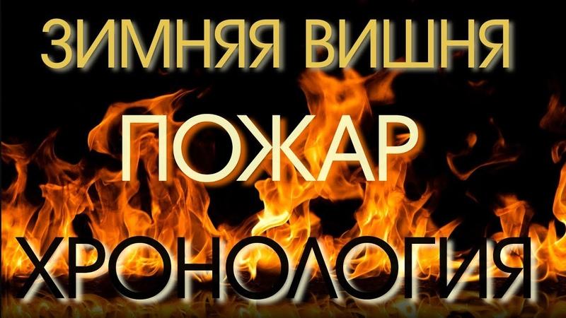 Пожар в Кемерово ТЦ Зимняя Вишня Хронология событий