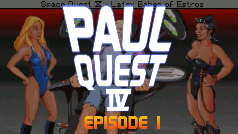 Paul Quest IV Ep01 Blame Larry Space Quest 4 Let's Play