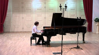 Simon Karakulidi:  Concert of Mira Marchenko' class students (fragment)
