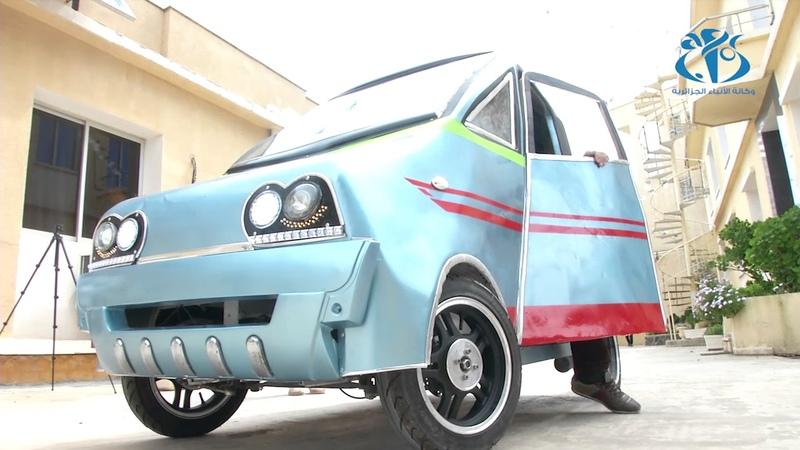 مخترع جزائري ينجز سيارة صديقة للبيئة