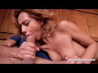 Veronica Leal - Squirting In The Sauna _1080p