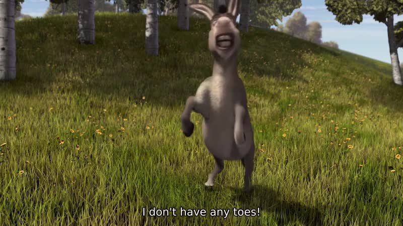 I don't have any toes