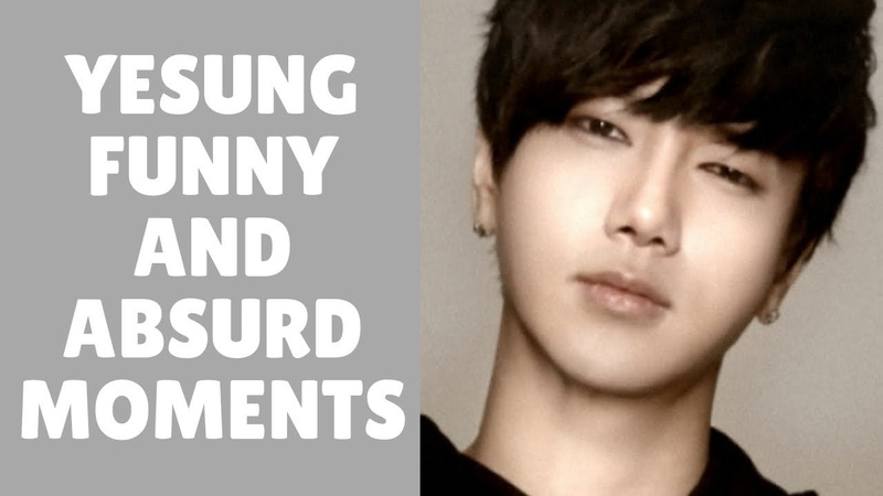 Super Junior 슈퍼주니어 YESUNG Funny And Cute Moments