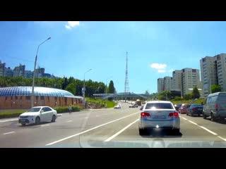 "По ""встречке"" проспекта Ватутина"