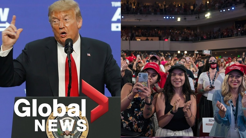Trump addresses crowd of young Americans at Arizona rally FULL