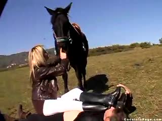 The riding  instructor - (360)