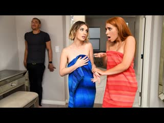 Joseline Kelly, Kristen Scott - My Girlfriends Girlfriend - Threesome Blowjob Redhead Natural Tits Hardcore