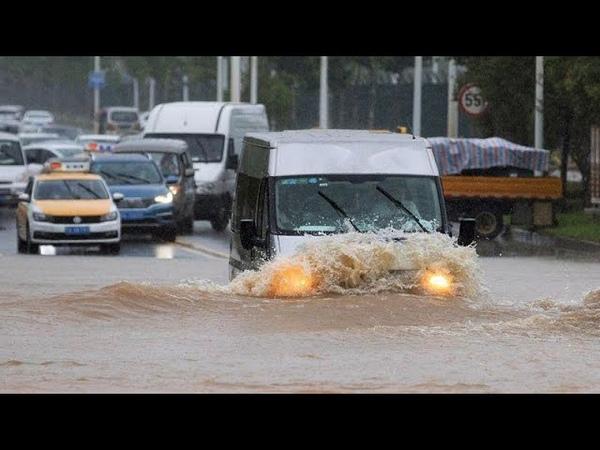 Наводнение в Китае и проливные дожди Ухань снова в зоне риска