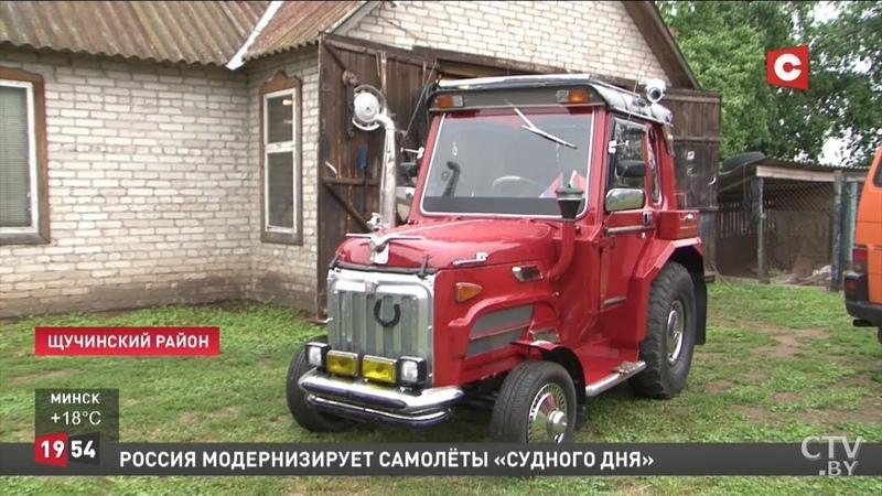 Самый крутой тюнинг трактора Армянин собрал настоящий шедевр