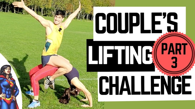 COUPLES LIFT AND CARRY CHALLENGE PART 3 I continue to lose…😭