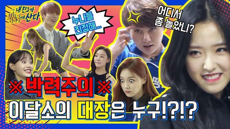 내친방 쪽수로 밀어붙여 '비글돌' 이달의 소녀 LOONA vs '원조 걸크러쉬' 땡지 1탄 l 내친구가방송국에산다 l EP 1 ENG JAP