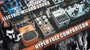 HYPER FUZZ FZ-2 | COMPARISON | PHATOUM FUZZ | SF300 SUPER FUZZ | ELECTRIC WIZARD RIFFS