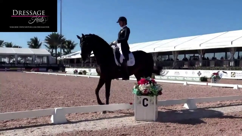 Adrienne Lyle Salvino Winning Grand Prix Highlights 76.8%