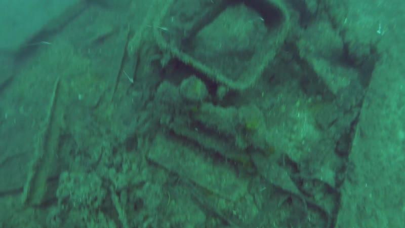 Эхо войны На дне моря Минный заградитель Дооб