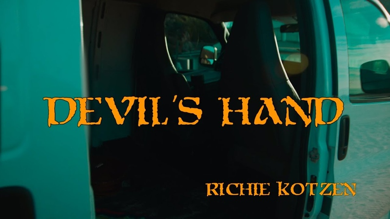 Richie Kotzen Devil's Hand Official Music Video