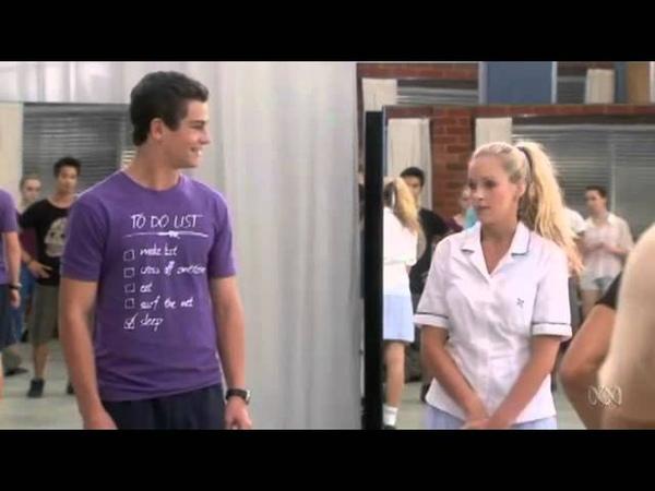 2x07 Академия танца Танцевальная академия Dance Academy 2012
