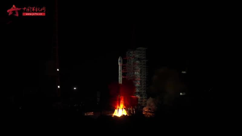 现场视频:我国成功发射第五十四颗北斗导航卫星