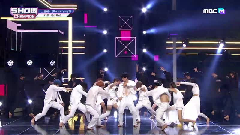 K TIGERS ZERO The Starry night @ Show Champion 200401