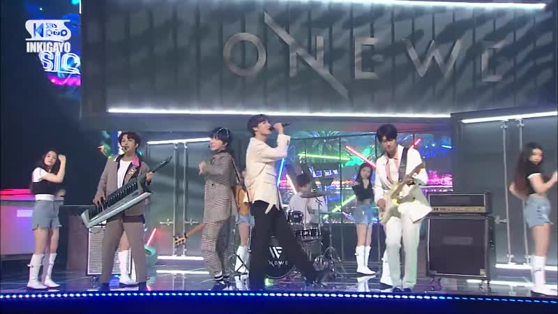 ONEWE End of Spring @ Inkigayo 200531