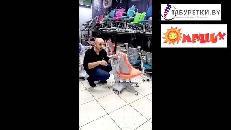 Кресло эргономичное для школьника Match MEALUX. Купить ортопедическое кресло в Минске.