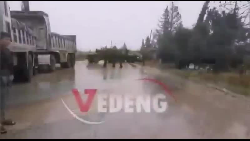 Хроники побед над Америкой. Американцы в районе сирийского города Эль-Камышло не пропустили патруль российской военной полиции.
