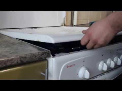 Как почистить жиклер горелку на газовой плите Gefest