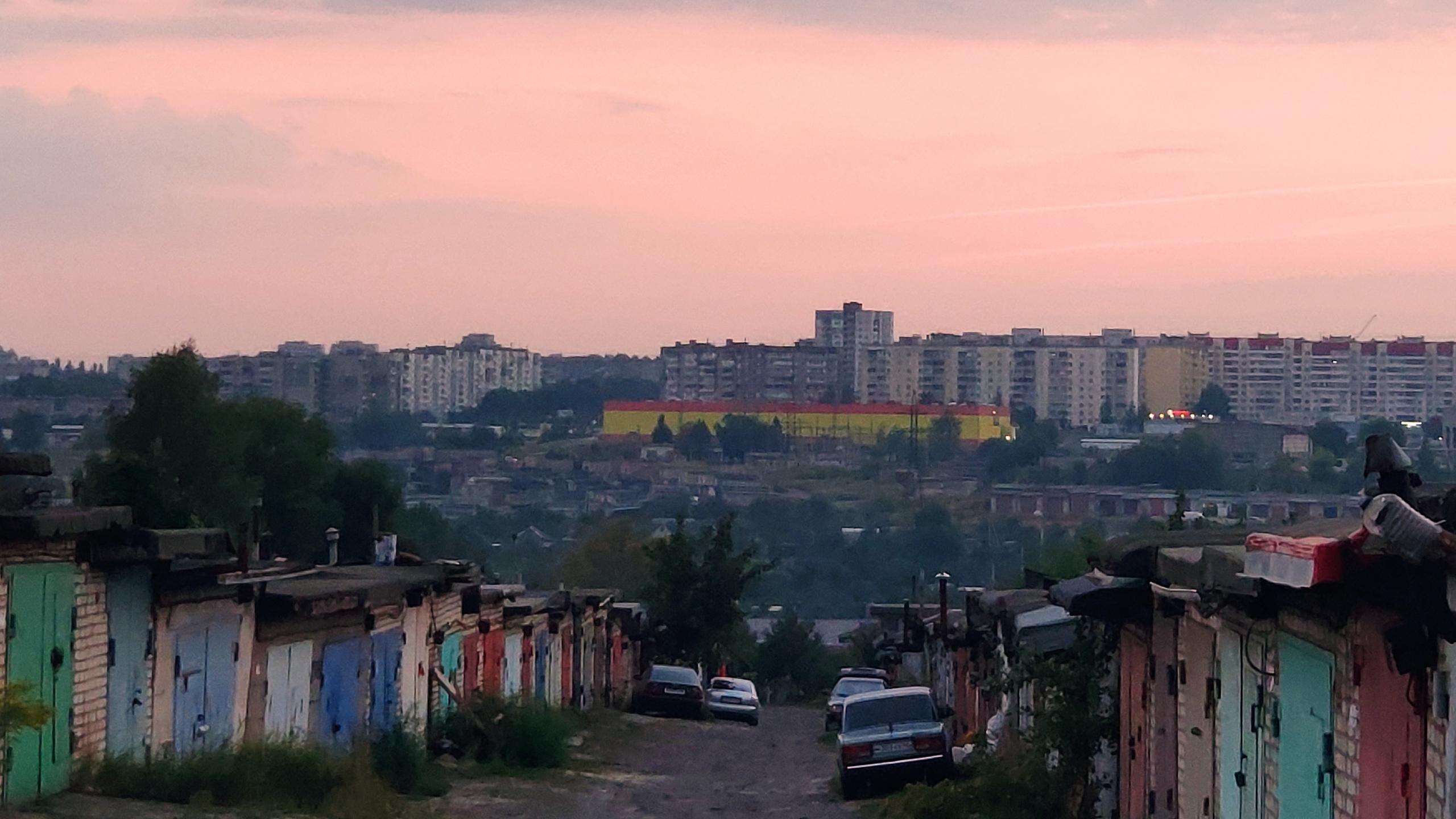 Железногорск, вид с ГСК  Курская область 2021 - Фото