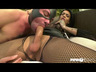 Bianca Reis - And The Pay In Blowjobs [ г., TS Shemale Fucks / On Male, Big Cock, Anal, Bareback, Hardcore, Pissing]