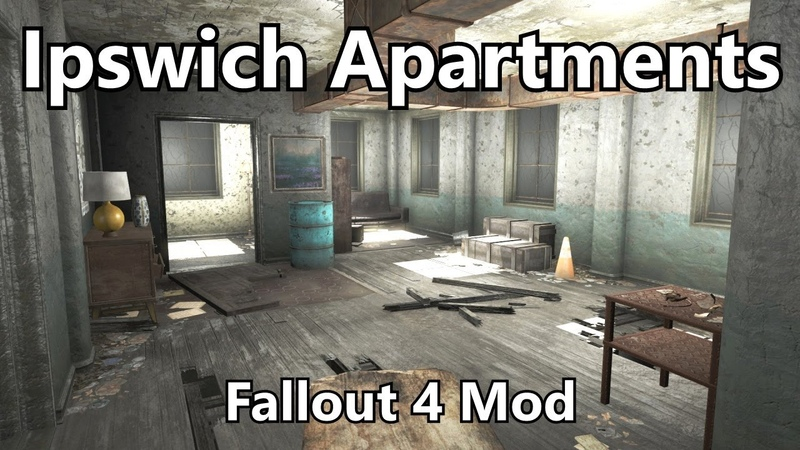 Ipswich Apartments Fallout 4 Mod Developer Commentary