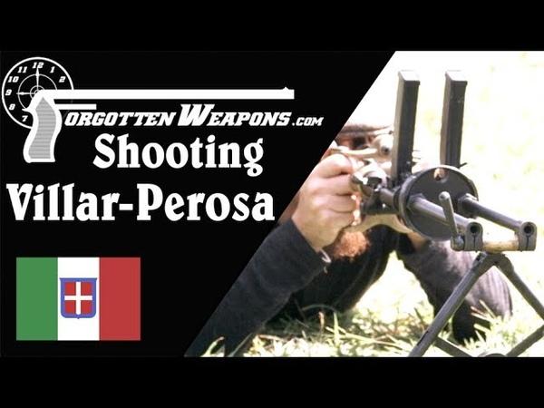 WW1 Villar Perosa SMG at the Range
