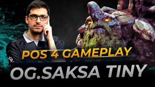 plays Tiny | Full Gameplay Dota 2 Replay