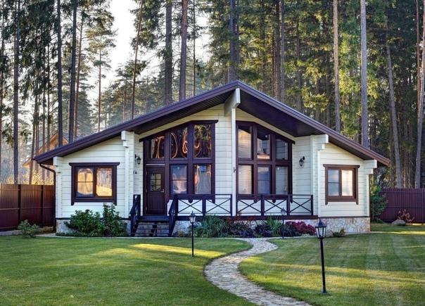 Симпатичный дом (источник: gofazenda)