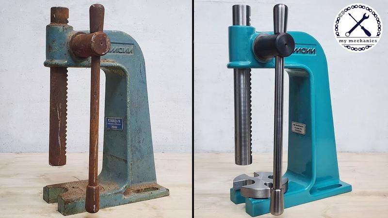Rusty Arbor Press Restoration