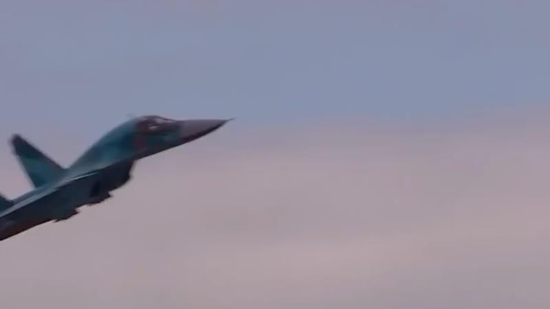 Истребитель бомбардировщик Су 34 Россия Иран авиация