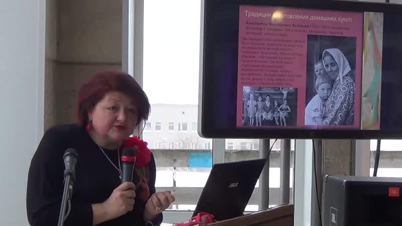 лекция Жанны Столярской на научно-культурном форуме Русские сезоны