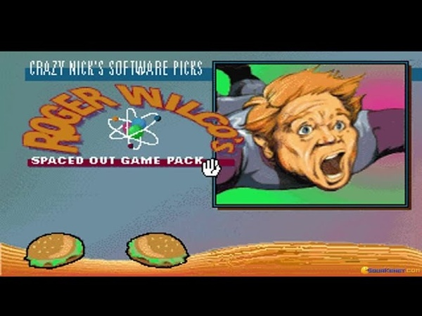 Crazy Nicks Pick Roger Wilcos Spaced Out Game Pack gameplay (PC Game, 1993)