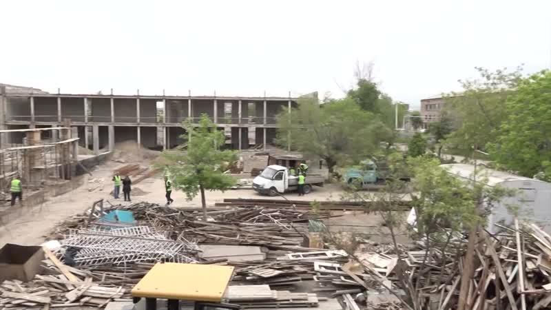 Հինգ ամիս է՝ աշակերտների փոխարեն Էջմիածնի 5 րդ ավագ դպրոց են գնում շինարարները mp4