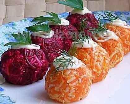 Овощные шарики «Сюрприз»