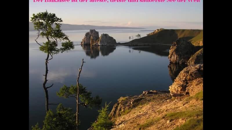 Heiliger Baikal Славное море священный Байкал