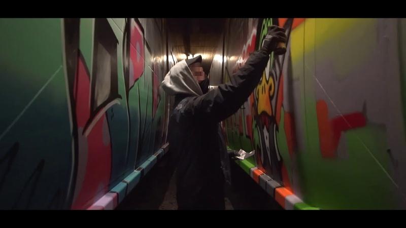 MTN Water Based X Drips Jeico Noak paint Berlin Subway