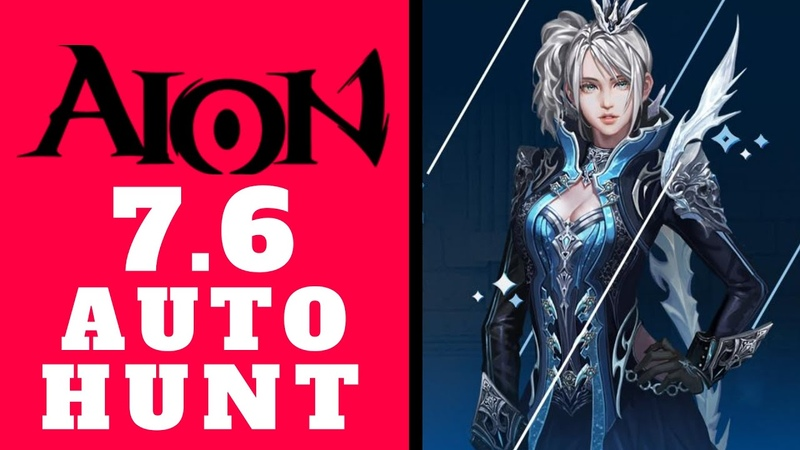 AION 7.6 NEW AUTO HUNT - Game Bot For Afk Farming Or Something More (Aion MMORPG 2020)