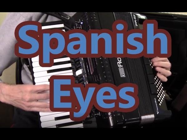 Roland Accordion Music, Spanish Eyes, Dale Mathis