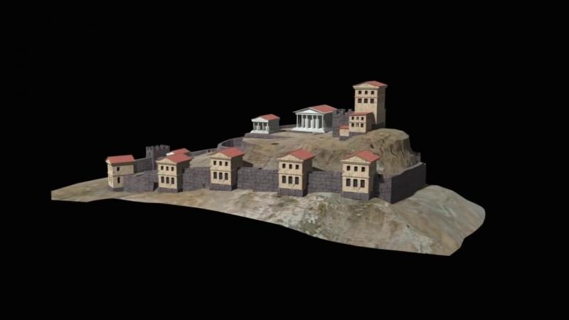 Реконструкция акрополя Пантикапейского
