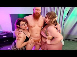 [LIL PRN] Plumper Pass - Velma Voodoo & Lil Kiwwi - Dreams Of BBW Faires  1080p Порно, BBW, Big Tits, Brunette