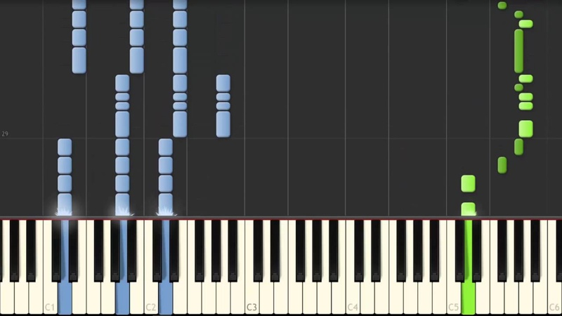 Different Heaven Nekozilla Synthesia Piano Tutorial