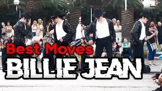 Jhon Palacios Michael Jackson best moves Billie Jean | Mar del Plata