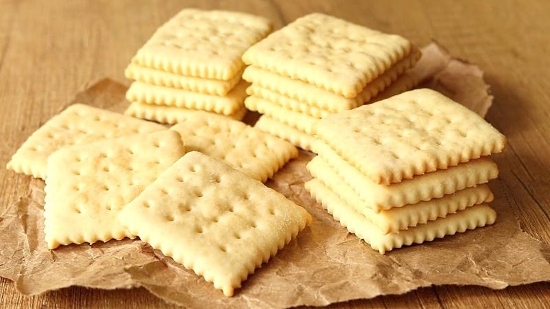 Простой Рецепт ПЕЧЕНЬЯ ГАЛЕТНОГО🌟 вкуснее чем в Магазине Затяжное Диетическое Печенье Cookies