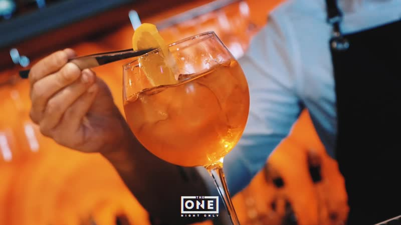 THE ONE Cocktails x Aperol Spritz