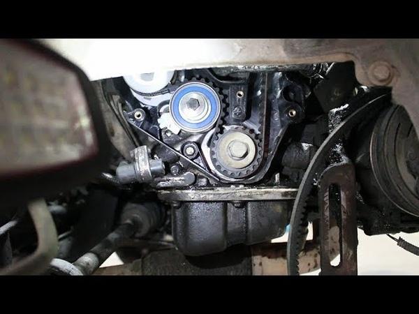Замена помпы и ремня ГРМ на Chevrolet Lanos Шевроле Ланос 2006 года 2часть